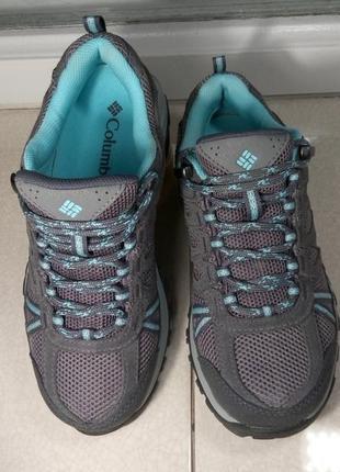 Женские треккинговые термо ботинки кроссовки columbia redmond