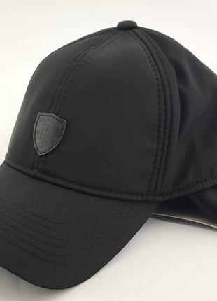 Бейсболка мужская кепка польская утепленная теплая