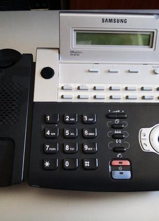 Цифровой системный телефон Samsung DS-5014D бу без трубки!