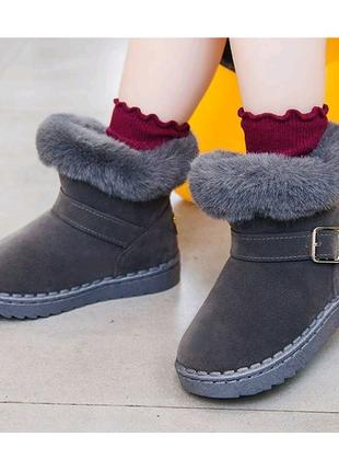 Ботинки для девочек зимние X & K