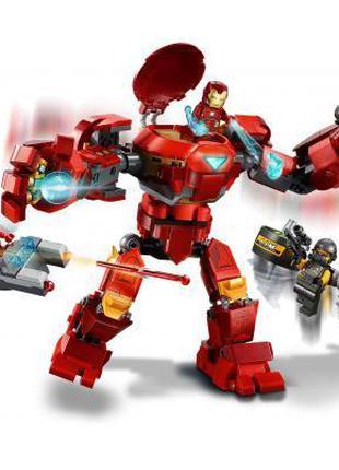 ✅Конструктор LEGO Super Heroes Marvel Comics Халкбастер против...