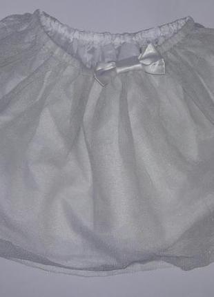Нарядная фатиновая юбка