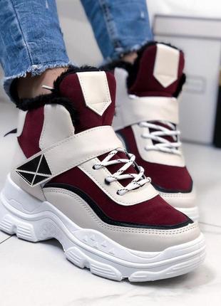Комбирированные кроссовочки