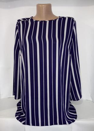 Модная блуза в полоску primark uk 16/44/xl