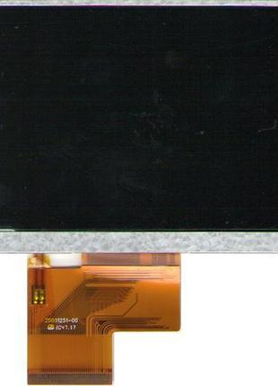 Дисплей для GPS навигатора 5 дюймов