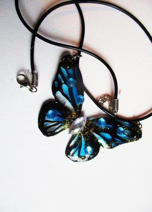 Колье волшебная бабочка