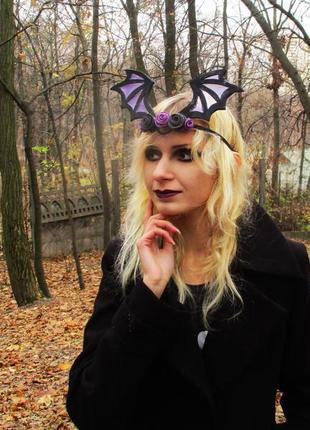 Готическая корона обруч на хэллоуин