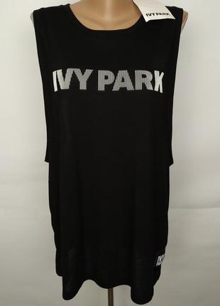 Майка ivy park новая модная в принт размер uk 12/40/m