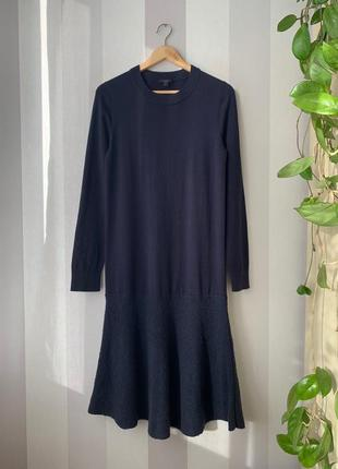 Шерстяное платье cos, новое!