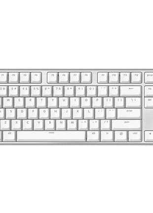 Клавиатура Xiaomi YueMi MK02S White/Silver (JHT4005RT)