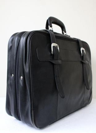 Кожаный дорожный чемодан (сумка)