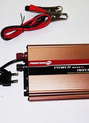 Инвертор преобразователь 12-220V 1300W с зарядкой аккумулятора