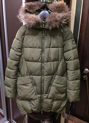 Шикарное женское пальто moda piu anna италия