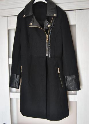 Пальто guess шерстяное / косуха шерстяна /пальто шерстяне р-р s