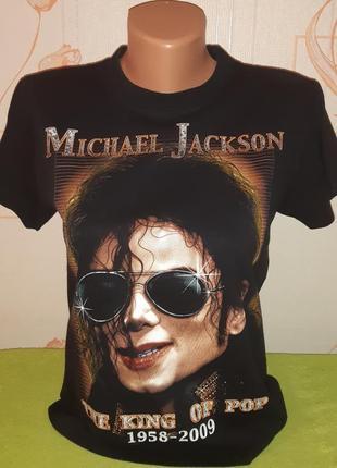 Крутая качественная футболка the king of pop michael jackson