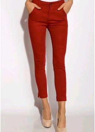 Женские брюки из хлопка