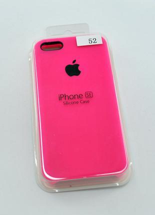 Чехол для телефона iPhone 5 /5s/SE Silicone Case original №52 ...