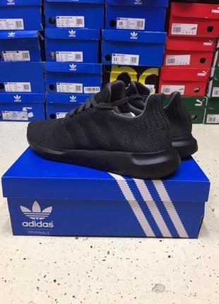 "Кроссовки adidas swift run ""black"" размер 46 оригинал"
