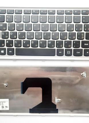 Клавиатура для ноутбуков Lenovo IdeaPad U410 Series черная с с...