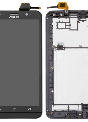 Дисплей для Asus ZenFone 2 ZE551ML, модуль с рамкой (экран, се...