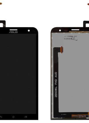 Дисплей для Asus ZenFone 2 Laser ZE601KL, модуль (экран, сенсо...