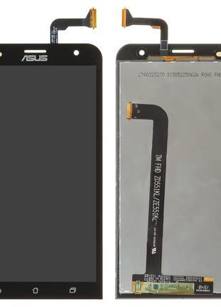 Дисплей для Asus ZenFone 2 Laser (ZE551KL), модуль (экран, сен...