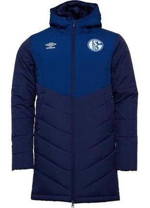 Куртка umbro fc shalke long padded jacket / оригинал