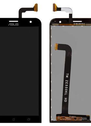 Дисплей для Asus ZenFone 2 Laser (ZE550KL), модуль (экран, сен...