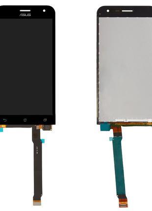Дисплей для Asus ZenFone 2 ZE500CL, модуль (экран, сенсор), че...
