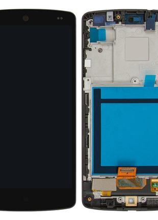 Дисплей для LG Google Nexus 5 D820, D821, D822, модуль с рамко...
