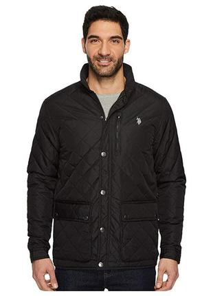 Куртка u.s. polo assn. diamond quilted jacket оригинал