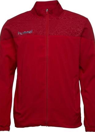 Спортивная кофта hummel mens sirius woven track jacket true re...