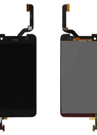 Дисплей для HTC Butterfly X920e, модуль (экран, сенсор), черны...