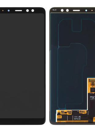 Дисплей для Samsung A730 Galaxy A8 Plus (2018), модуль (экран,...