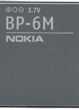 Батарея (аккумулятор, акб) Nokia BP-6M для телефонов Nokia, 10...