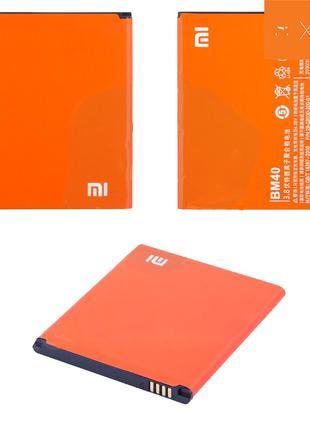Батарея (аккумулятор, акб) BM40 для Xiaomi Mi2A, 2030 mAh, ори...