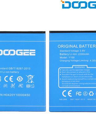 Батарея (аккумулятор, акб) для Doogee Valencia 2 Y100 PRO, 220...