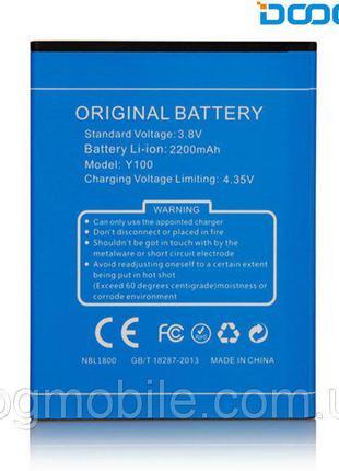 Батарея (аккумулятор, акб) для Doogee Valencia 2 Y100, 2200 mA...