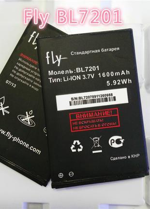 Батарея (аккумулятор, акб) BL7201 для Fly IQ445 Genius (1600 m...
