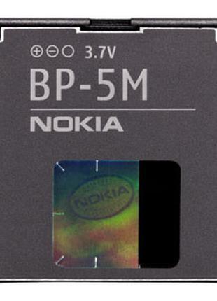 Батарея (аккумулятор, акб) BP-5M для телефонов Nokia, 900 mAh,...