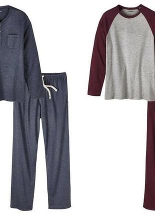 Шикарная мужская пижама домашний костюм, хлопок модал livergy ...