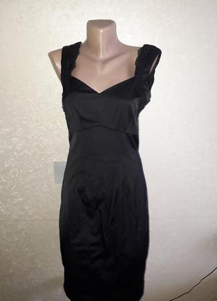 Шикарное платье с кружевом , классика