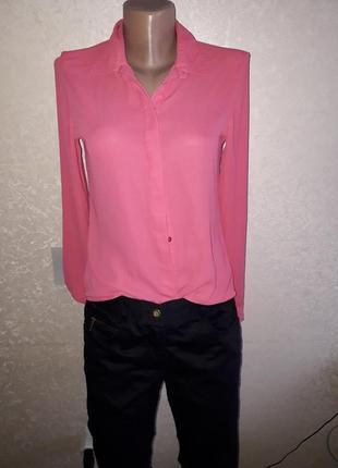 Розовая рубашка ,смешные цены