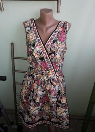 Легкое платье большой размер
