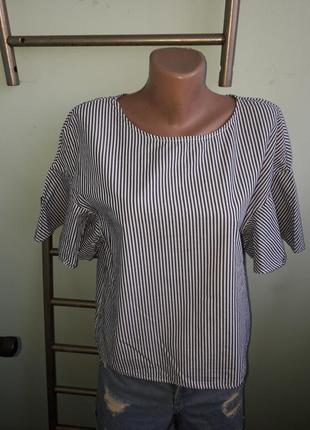Рубашка,блузка в полоску