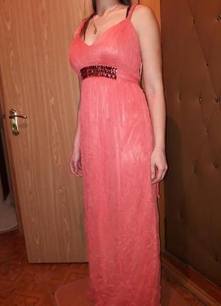 Платье в пол 1+1=3