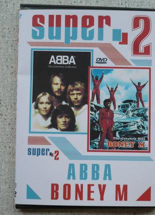 DVD ABBA  -The Definitive Collection / Boney M - The Greatest Hit