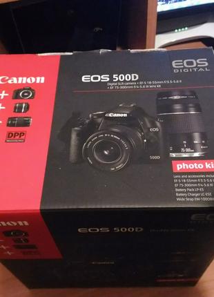 Canon 500D+ бустер.Стан нового