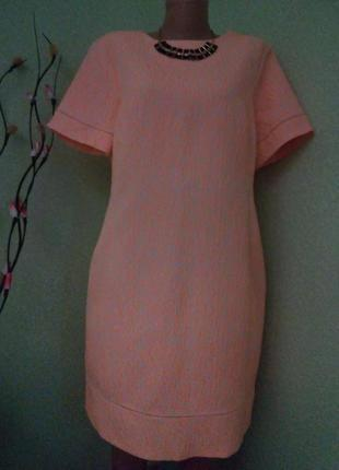 Фактурное жаккардовое платье по фигуре
