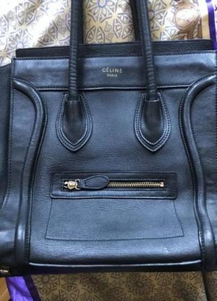 Шикарная ,большая, кожаная сумка